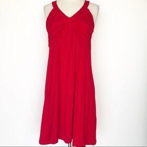 Calvin Klein red casual dress